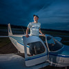 My son, Dawson Ayers, with the plane he is learning to fly<br /> <br /> Photographer's Name: Terry Lynn Ayers<br /> Photographer's City and State: Anderson, Ind.