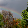 Rainbow on Anderson's east side after Thursday's rain.<br /> <br /> Photographer's Name: Jerry Byard<br /> Photographer's City and State: Anderson, Ind.