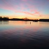 Geist Reservoir at dawn.<br /> <br /> Photographer's Name: J.R. Rosencrans<br /> Photographer's City and State: Alexandria, Ind.