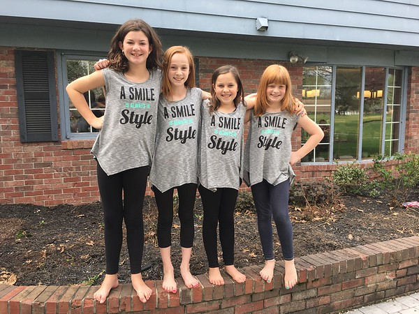 This is cousins Chloe Cuneo, Natalie Long, Avery Cuneo, and Kendall Long from Alexandria.<br /> <br /> Photographer's Name: Carrie Long<br /> Photographer's City and State: Alexandria, Ind.
