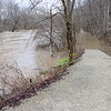 Trail Fiver at Mounds Park is shown underwater from the heavy rains.<br /> <br /> Photographer's Name: Jerry Byard<br /> Photographer's City and State: Anderson, Ind.