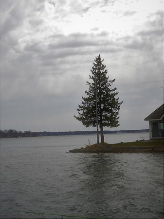 The  Pine Tree Point at Lake  Wawasee.<br /> <br /> Photographer's Name: J.R. Rosencrans<br /> Photographer's City and State: Alexandria, Ind.