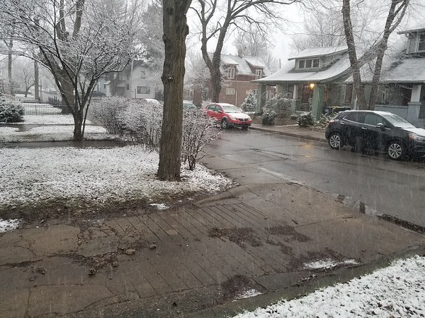 Easter Sunday 2018 evening 2...winter's last hurrah?<br /> <br /> Photographer's Name: Jack D. Reynolds<br /> Photographer's City and State: Anderson, Ind.