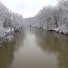 White River after our April snow storm.<br /> <br /> Photographer's Name: Jerry Byard<br /> Photographer's City and State: Anderson, Ind.
