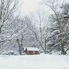 Snow blankets a beautiful Madison County scene on Monday, April 2, 2018.<br /> <br /> Photographer's Name: Heather Forrester<br /> Photographer's City and State: Anderson, Ind.