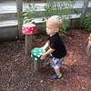 Anderson resident Thomas Parker uploaded this photo of his great-grandson, Parker Thomas Leeuw, having fun in the children's sensory garden at Mounds State Park. <br /> <br /> Photographer's Name: Thomas Parker<br /> Photographer's City and State: Anderson, Ind.