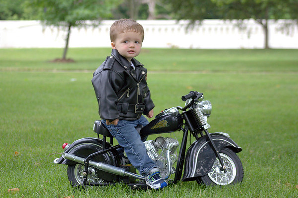 19-month-old Lucas Etchison enjoying a motorcycle ride at Falls Park.<br /> <br /> Photographer's Name: Tammy Jenkins<br /> Photographer's City and State: Daleville, Ind.