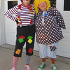 Patches and Gracie are two clowns who perform at local senior centers and nursing homes as a clown ministry.<br /> <br /> Photographer's Name: Paul Baylor<br /> Photographer's City and State: Anderson, Ind.