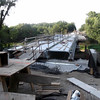 The status of the 600W bridge construction on Aug. 23. Looks like there is much to do before the opening.<br /> <br /> Photographer's Name: Harry Kirchenbauer<br /> Photographer's City and State: Anderson, Ind.