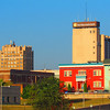 The downtown Anderson skyline.<br /> <br /> Photographer's Name: Brian Fox<br /> Photographer's City and State: Anderson, Ind.