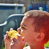 My grandson, Adam Huffman-Brown, enjoying some corn on the cob!<br /> <br /> Photographer's Name: Colleen Sanders-Brown<br /> Photographer's City and State: Anderson, Ind.
