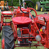 Markleville Jamboree Tractor Show entrants.<br /> <br /> Photographer's Name: John Brase<br /> Photographer's City and State: Markleville, Ind.