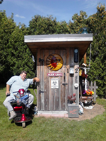 My name is Mark Mundy and I LOVE my man cave!<br /> <br /> Photographer's Name: Patty Gosnell<br /> Photographer's City and State: Anderson, Ind.
