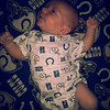 This is my son, his name is Tristen Ryan Malikiah Rothell. He was born June 5, 2013. His father and I are big Colts fans! We're ready to start the season:)<br /> <br /> Photographer's Name: Leigh-Ann Justice<br /> Photographer's City and State: Anderson, Ind.