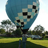 Hot Air Balloon Ride! Danny Heath and his son Peyton enjoyed the JamFest held at the Christ Lutheran Church in Anderson.<br /> <br /> Photographer's Name: Bonnie Heath<br /> Photographer's City and State: Anderson, Ind.