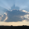 Evening sky over the Fall Creek Valley <br /> <br /> Photographer's Name: Rex Rice<br /> Photographer's City and State: Middletown, Ind.