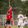 My son Dawson Ayers from Liberty Christian heading a ball in a soccer game at Greenwood. <br /> <br /> Photographer's Name: Terry Lynn Ayers<br /> Photographer's City and State: Anderson, Ind.