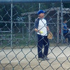 My father Gerry Smith at a Pulaski Park slow pitch softball league game.<br /> <br /> Photographer's Name: Marlo Smith<br /> Photographer's City and State: Anderson, Ind.