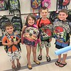My grandchildren ready to go back to school.<br /> <br /> Photographer's Name: Brenda  Caldwell<br /> Photographer's City and State: Anderson, Ind.