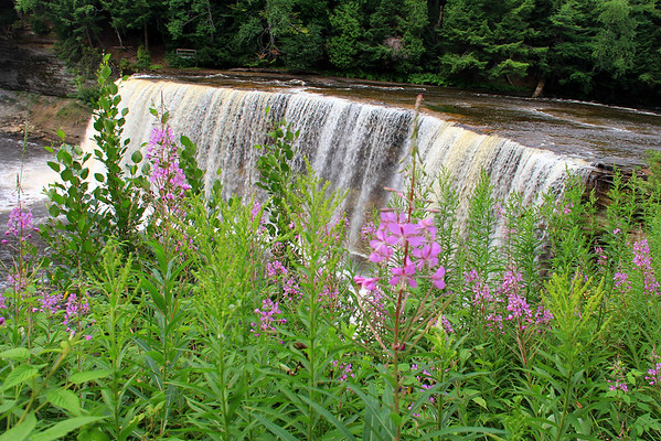 This is a view of the Upper Tahquamenon Falls located in Michigan's Upper Peninsula.<br /> <br /> Photographer's Name: Jerry Byard<br /> Photographer's City and State: Anderson, Ind.
