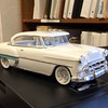 My brother-in-law's exact model of the customized '53 Chevy I was driving while dating his sister. Only the hood louvers are missing<br /> <br /> Photographer's Name: Harry Kirchenbauer<br /> Photographer's City and State: Anderson, Ind.