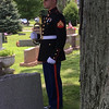 USMC Honor Guard for fallen Marine in Fortville.<br /> <br /> Photographer's Name: J.R. Rosencrans<br /> Photographer's City and State: Alexandria, Ind.