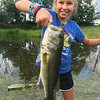 Last day to fish before school starts...granddaughter Katie Gray at my farm in Richland Township.<br /> <br /> Photographer's Name: J.R. Rosencrans<br /> Photographer's City and State: Alexandria, Ind.