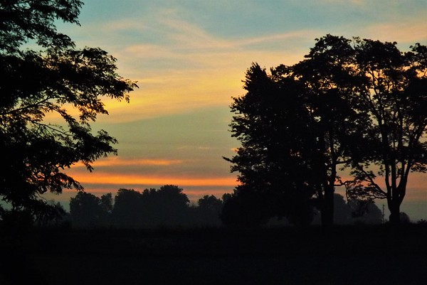 Morning magic on the farm in Richland Township.<br /> <br /> Photographer's Name: J.R. Rosencrans<br /> Photographer's City and State: Alexandria, Ind.