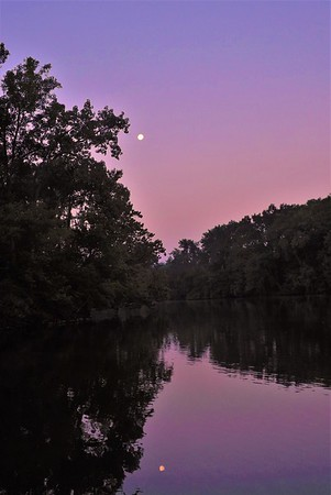 A  quiet dawn at Shadyside Lake.<br /> <br /> Photographer's Name: J. R. Rosencrans<br /> Photographer's City and State: Alexandria, Ind.