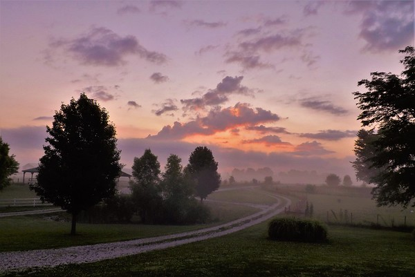 Meeting the morning in Richland Township. <br /> <br /> Photographer's Name: J. R. Rosencrans<br /> Photographer's City and State: Alexandria, Ind.
