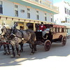 Carriage and Driver on Mackinac Island.<br /> <br /> Photographer's Name: David Harrington<br /> Photographer's City and State: Anderson, Ind.