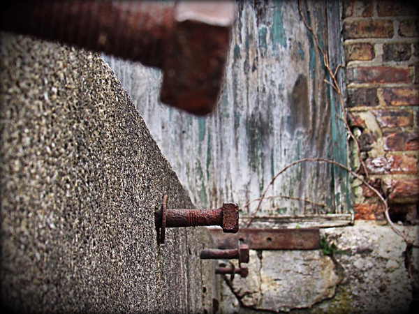 Rusty bolts<br /> <br /> Photographer's Name: Tanner Hutchison<br /> Photographer's City and State: Anderson, Ind.