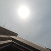 Solar eclipse, seven stories closer.<br /> <br /> Photographer's Name: Jack D. Reynolds<br /> Photographer's City and State: Anderson, Ind.
