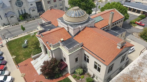 A view from the top: Happy Anniversary to the Anderson Center for the Arts!<br /> <br /> Photographer's Name: Jack D. Reynolds<br /> Photographer's City and State: Anderson, Ind.
