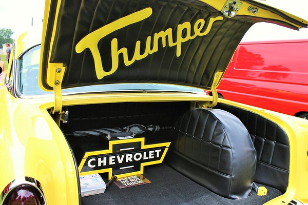 A 1955 Chevy Bel Air named Thumper.<br /> <br /> Photographer's Name: Rebecca Reding<br /> Photographer's City and State: Anderson, Ind.