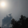 Interesting sky during the eclipse.<br /> <br /> Photographer's Name: Jerry Byard<br /> Photographer's City and State: Anderson, Ind.