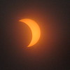 Solar eclipse, seen from Lafayette Township.<br /> <br /> Photographer's Name: Harry Van Noy<br /> Photographer's City and State: Lafayette Township, Ind.