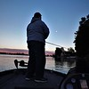 Night fishing at Geist Reservoir.<br /> <br /> Photographer's Name: J.R. Rosencrans<br /> Photographer's City and State: Alexandria, Ind.
