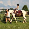 Learning to ride at Moon Rise Farms in Richland Township.<br /> <br /> Photographer's Name: J.R. Rosencrans<br /> Photographer's City and State: Alexandria, Ind.