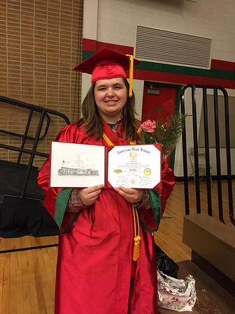My granddaughter, Lauren Caldwell, 2017 valedictorian of Anderson High School.<br /> <br /> Photographer's Name: Brenda Caldwell<br /> Photographer's City and State: Anderson, Ind.
