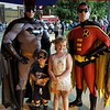 Superheroes Night at Indianapolis Indians game.<br /> <br /> Photographer's Name: Lisa Rinker<br /> Photographer's City and State: Anderson, Ind.