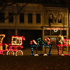 A Christmas train in downtown Anderson.<br /> <br /> Photographer's Name: Brian Fox<br /> Photographer's City and State: Anderson, Ind.