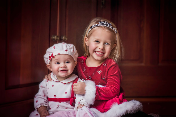 My granddaughters Nilsa and Kambria Fox ready to see the Nutcracker.<br /> <br /> Photographer's Name: Terry Lynn Ayers<br /> Photographer's City and State: Anderson, Ind.