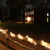 The historic Bronnenberg house at Moundsl State Park held a Christmas celebration open house on Saturday evening.<br /> <br /> Photographer's Name: Jerry Byard<br /> Photographer's City and State: Anderson, Ind.