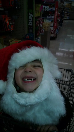 All he wants for Christmas are his two front teeth. My grandson Carson Passmore.<br /> <br /> Photographer's Name: Kim Passmore<br /> Photographer's City and State: Anderson, Ind.