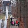 An exciting activity in Pokagon State Park is riding the toboggan run.<br /> <br /> Photographer's Name: Jerry Byard<br /> Photographer's City and State: Anderson, Ind.