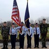 Cadets from APA and the Civil Air Patrol's Anderson Composite Squadron GLR 223 honor veterans at a Wreaths Across America ceremony.<br /> <br /> Photographer's Name: Dee  Martin<br /> Photographer's City and State: Muncie, Ind.