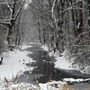 Snowy Killbuck Creek.<br /> <br /> Photographer's Name: J.R.  Rosencrans<br /> Photographer's City and State: Alexandria, Ind.