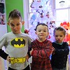 Landon Metz, Mason Minderman and Alyssa McDaniel practice their naughty faces for a Christmas picture.<br /> <br /> Photographer's Name: Brian Fox<br /> Photographer's City and State: Anderson, Ind.