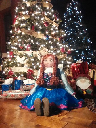This is a life-sized doll Donna Parton made for her granddaughter Aubrey Wise.<br /> <br /> Photographer's Name: Donna Parton<br /> Photographer's City and State: Frankton, Ind.